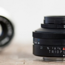 Meyer-Optik-Goerlitz f/2.9 50mm Trioplan