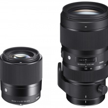 Sigma 30mm f/1.4 DC DN | Contemporary and 50-100mm f/1.8 DC HSM | Art.